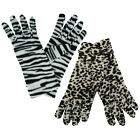 Ladies Animal Print Gloves 2 Designs To Choose From GL252