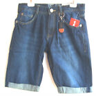 LEMMI Boys Bermuda blue denim Gr. 134 - 170  BIG  UVP  35,95 €  NEU