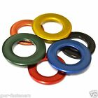 M3 BRASS STAINLESS STEEL Coloured Form A Flat Washers - GWR Colourfast® - Coated