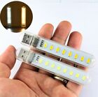 USB LED Lamp Small Night Computer 8 Leds Mobile Power LED Lamp Lighting Light U8