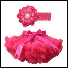 B&N Girl Tutu Skirt Fluffy Baby Tulle Skirts Soft Party Pettiskirt with Hairband