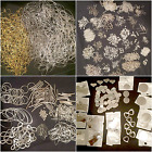 Job Lot Hundreds Jewellery Making Silver & Gold Plated Findings discs to engrave