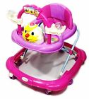 Baby Walker First Steps Activity Bouncer Musical Toy Push Along Ride Smiley Ball