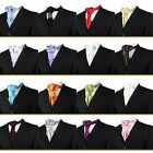 Boys Cravat Ties Adjustable Cravats Wedding Prom Page Boy Children Kids Cravat