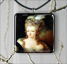 MARIE ANTOINETTE QUEEN OF FRANCE PENDANT NECKLACE 3 SIZES CHOICE -wuq8Z