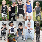 2pcs Newborn Toddler Infant Kids Baby Boy Clothes T-shirt Tops+Pants Outfits Set