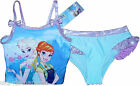 Disney Frozen Anna Elsa 2 Piece Tankini Swimsuit Swimming Costume NEW OFFICIAL
