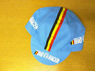 BIO RACER CYCLING TEAM BIKE CAP - MADE IN ITALY - BLUE