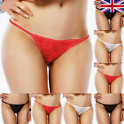 Pack of Lace G-String Thongs Black Red White Sexy Lingerie Set of Underwear UK