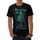 Fun Knive Biker Art Skull Men T-shirt S-5XL NEW | Wellcoda