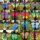 Fashion Ladies Women Stylish Colorful Long Neck Scarf Soft Butterfly Wing Cape