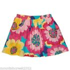 New CARTER'S Girl's FLORAL Cotton Skirt Size 12 18 24 months With Diaper Cover