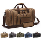 Kyпить Canvas Travel Tote Luggage Large Men's Weekend Gym Shoulder Duffle Bag & Strap на еВаy.соm