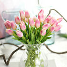 10 Bouquet Tulip Real Touch Artificial Fake Flower For Home Wedding Decor Flower