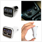 Universal 4.8A Dual USB Ports Fast Car Charger Adapter With LED Voltage Displays