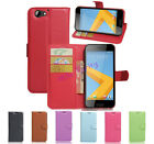 New For HTC One A9S Flip Magnetic Leather Soft Gel Wallet Card Case Stand Cover