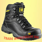 Caterpillar Cat Safety Boots Diagnostic Steel toe Black