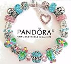 New AUTHENTIC PANDORA Mom CHARM BRACELET 925 Sterling Silver European Beads #18