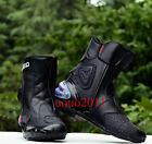 Men MOTO Boots PRO-BIKER Motorcycle Sports Racing Riding Boots Fashion Shoes New