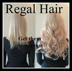 """20""""NAIL TIP/U TIP 1G #60 5Agrade HUMAN HAIR EXTENSIONS UK SELLER,FAST DELIVERY"""
