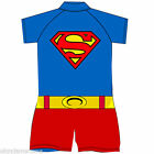 Kids Superman Sunsafe Suit Swimming Costume Childrens Boys Swimwear Sunsuit