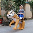 Tiger lion animal Inflatable Costume masquerade party unisex prop Adult Cosplay