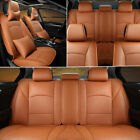 Купить US STOCK For Ford F-150 2010-2016 Auto PU Leather Seat Covers Front+Rear Set