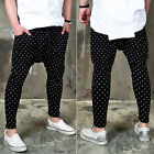NewStylish mens fashion bottom pants Dot patterned cute baggy sweatpants