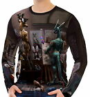 # Mens Long Sleeve T-Shirt Tee wa2 aao40586