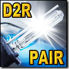 For Infiniti M45 2003 2004 Xenon HID Headlight Replacement Bulbs Low Beam D2R
