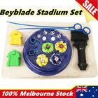 5D Beyblade Rapidity Masters Grip Launcher Fusion Fight Battle Game Stadium