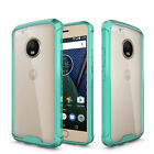 Anti-Knock ShockProof Soft Dual layer Back Cover Case For Motorola Moto G5 Plus