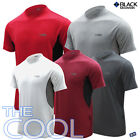 Black Mountain KOREAN Summer Functional Short Sleeve THE COOL Round T-Shirt