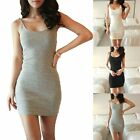 Summer Women Casual Short Mini Dress Cocktail Party Evening Bodycon Sleeveless