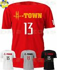 Houston Rockets James Harden H-Town 13 Jersey Tee Shirt Men Size S-5XL on eBay