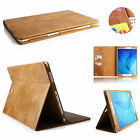 "Premium Smart 100% Genuine Leather Case For Samsung Galaxy Tab A 8.0"" T350 T355"