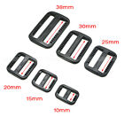 Внешний вид - Plastic Slider Tri-Glide Adjust Buckles Backpack Straps Webbing 10mm~38mm Black