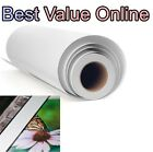 "Premium Polyester Canvas Roll Matte 24"", 36"", 44"", 60"" x 60' inkjet printing zz"