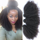Mongolian Afro Kinky Curly Vigin Hair Extension Curly Weave Human Hair Bundles