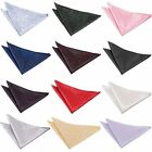 Premium Woven Jacquard Swirl Wedding Handkerchief Pocket Square Hanky