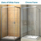 Aica Walk In Corner Entry Shower Enclosure  Door Glass Cubicle 700 760 800 900