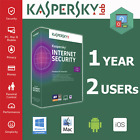 Kaspersky Internet Security 2017 1year 1pc 3pc 5pc Global Version KIS