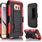 For Samsung Galaxy S6 Active Edge Plus Belt Clip Phone Case Cover+Stylus