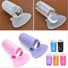 Clear Jelly Silicone Nail Art Stamper Scraper Nail Stamp Stamping Transfer Tools