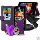 htc one m8 value - Purple Value 6 in 1 PU Leather Wallet Accessory Pack For Various Mobiles