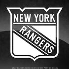 "New York Rangers Vinyl Decal Sticker - 4"" and Larger - 30+ Color Options! $3.98 USD on eBay"