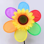 Windmill Wind Spinner Whirligig Children Multicolors Toys Classic Rainbow ev