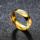 Stainless Steel Ring Gold Plated Devil Eye For Women Gift Jewelry Wedding Unique