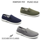 MENS CANVAS PUMP DECK SHOES SLIP ON SUMMER COMFORT WIDER FITTING DR KELLER