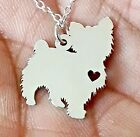 Yorkshire Terrier - Sterling Silver Jewelry - Gold - Rose Gold - Engrave - 2